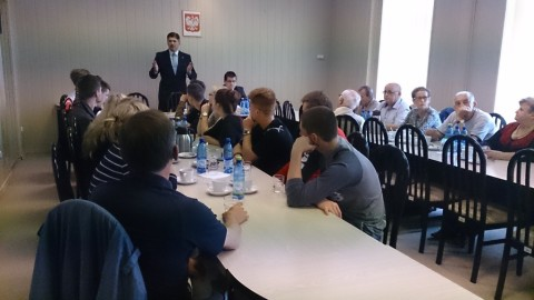 Spotkanie z posłem Pudłowskim w Skwierzynie